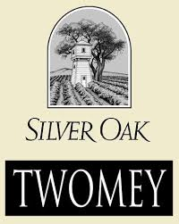 The Silver Oak or the Twomey cellars logo