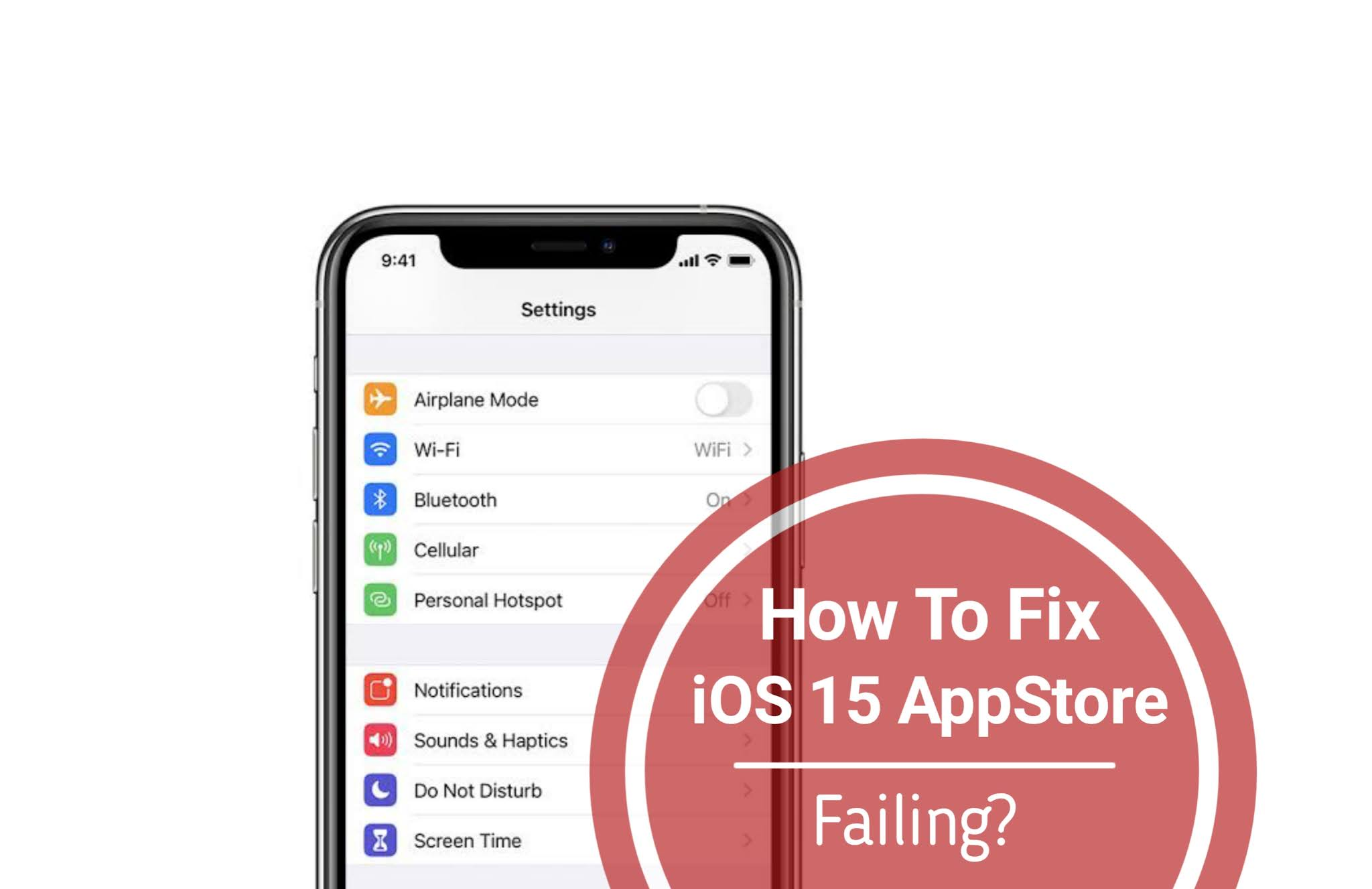 How To Fix iOS 15 AppStore Downloads Not Working