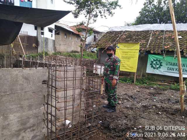 Progres Pembangunan SPALD-T di Desa Cangkuang Wetan Mencapai 80 Persen