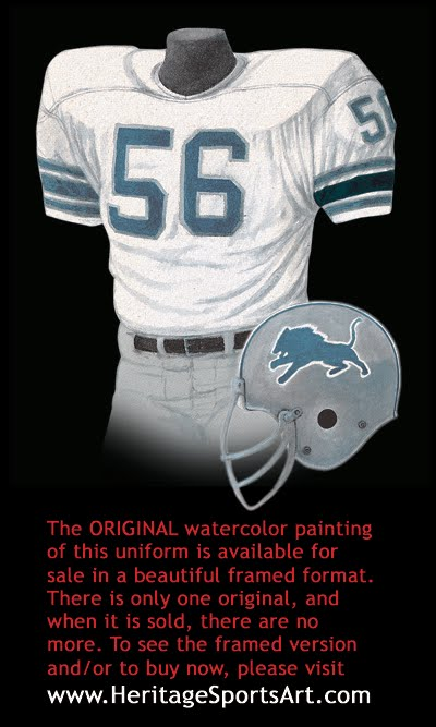 2090e8da112 Detroit Lions Uniform and Team History | Heritage Uniforms and Jerseys