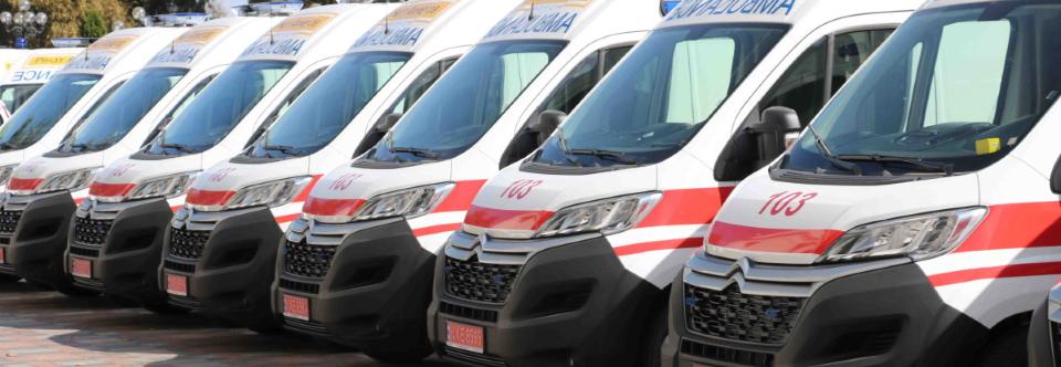 Міноборони придбало автомобілі швидкої медичної допомоги Сitroen Jumper