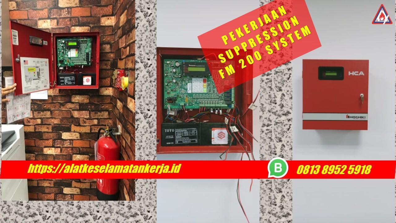 suppression fm200, fm 200 suppression system, jasa suppresion fm200, fm200, fm 200, fm 200 fire suppression system indonesia, maintenance fm 200, komponen fire suppression system, fire suppression