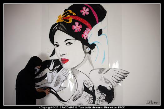 Prochain street art sedan dePaco