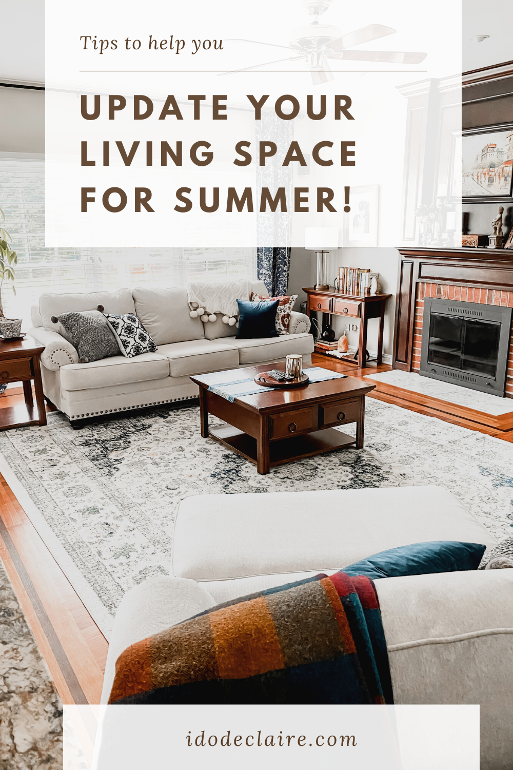Update Your Living Space for Summer!