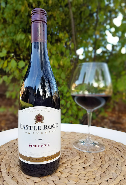 Castle Rock 2013 California Cuvee Pinot Noir recognized by Wine Enthusiast and Wine Spectator for being a terrific wine at a budget price! It's a quintessential Burgundy-style pinot noir that is smooth and easy to drink for around $10.