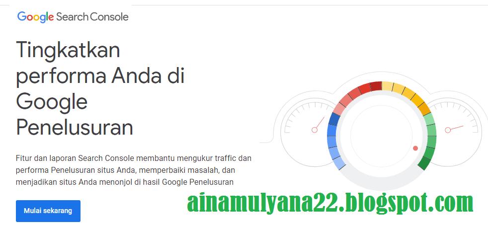 Alamat (URL) Baru Google Webmasters Tools Setelah Berubah Menjadi Google Search Central Tools
