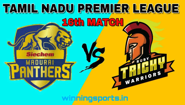 Dream11 team for MAD vs RUB 16th Match | Fantasy cricket tips | Playing 11 | TNPL dream11 Team | today match prediction |