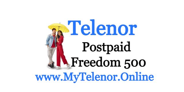 Telenor Freedom Internet 500 Package 2021 | MyTelenor