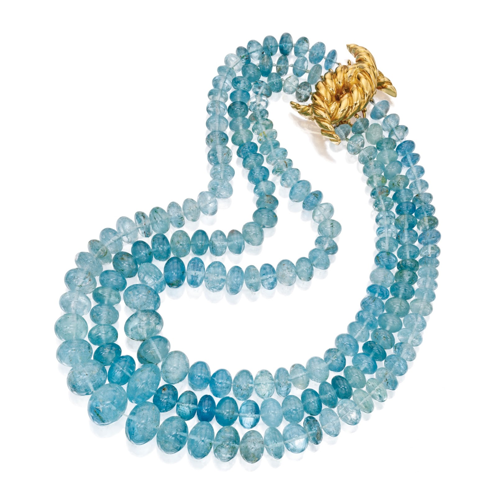 Marie Poutine's Jewels & Royals: Aquamarine Necklaces