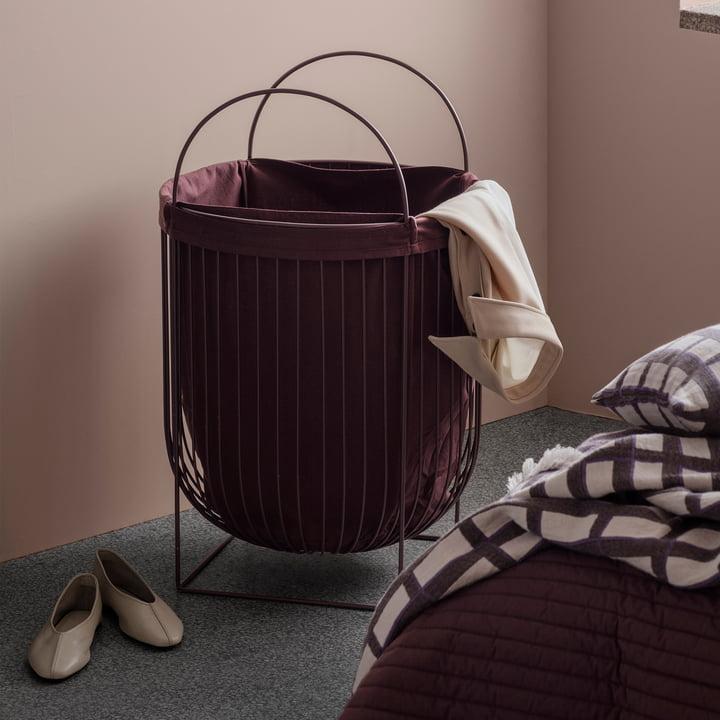 kosz na pranie druciany