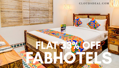 Flat 33% OFF FabHotels Promo Codes & Coupons