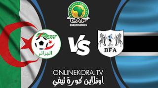 مشاهدة مباراة الجزائر وبوتسوانا بث مباشر اليوم 29-03-2021 في تصفيات أمم إفريقيا