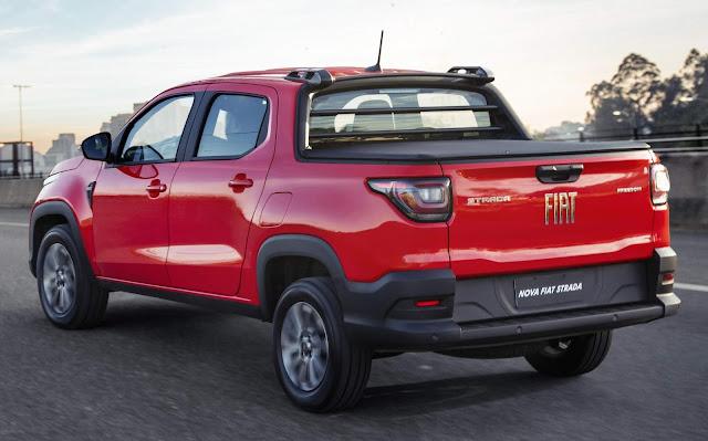 Nova Fiat Strada Freedom - aluguel - Unidas