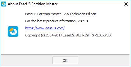 easeus partition master 12.5 activation key