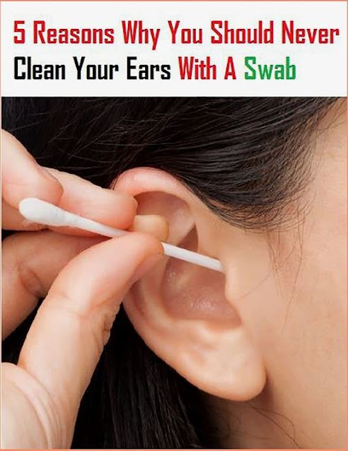 5 Reasons Why You Should Never Clean Your Ears With A Swab