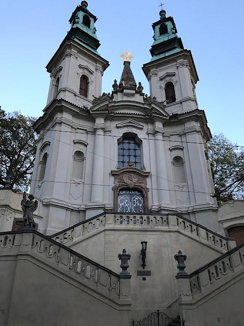 église Saint-Jean-Népomucène-sur-le-rocher Prague