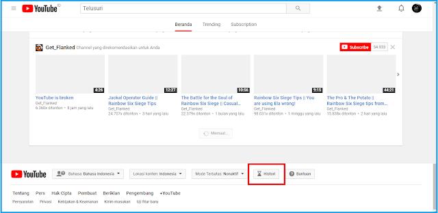 Cara Mengetahui Riwayat Tontonan di Youtube
