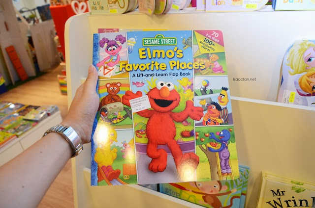 I'm pretty interested to get this Elmo lift and learn flap book for baby Martin