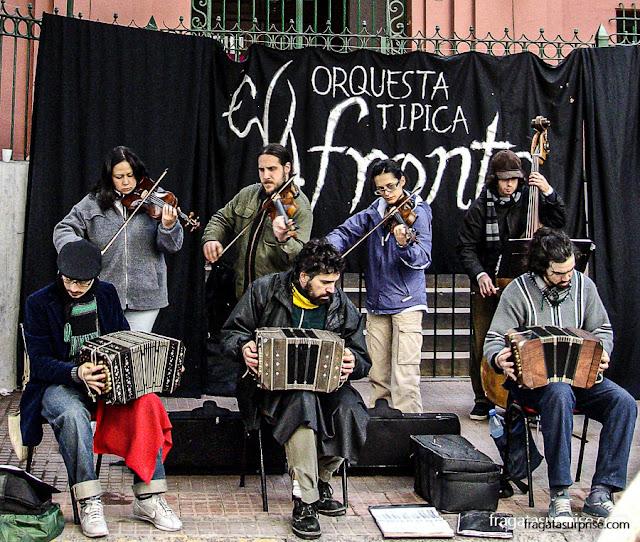 Milonga em San Telmo, Buenos Aires