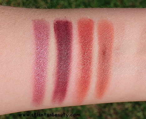 ColourPop Pressed Eyeshadow Singles Swatches