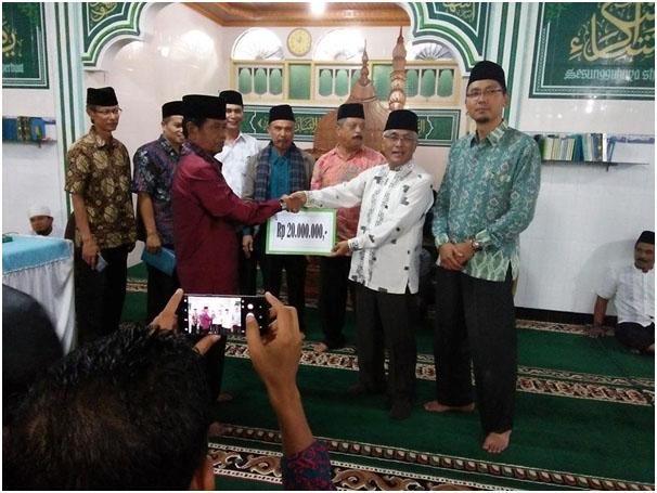 Guspardi Gaus  jemput aspirasi masyarakat kabupaten Agam