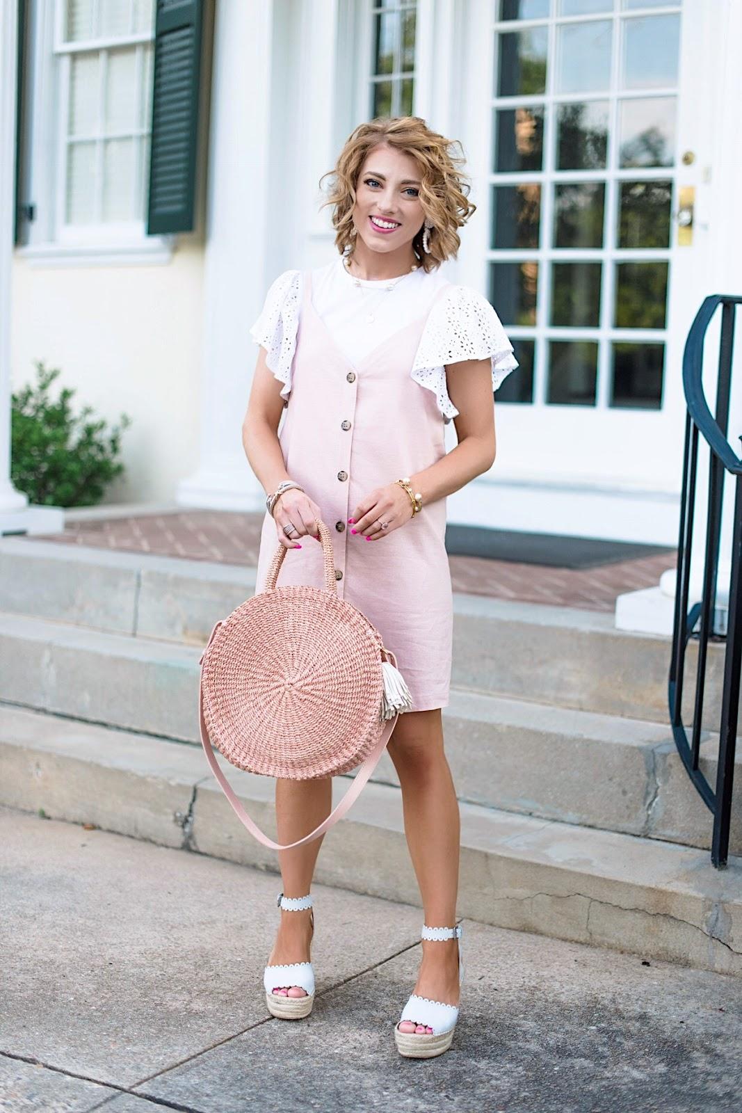 Pink and Eyelet - Something Delightful Blog