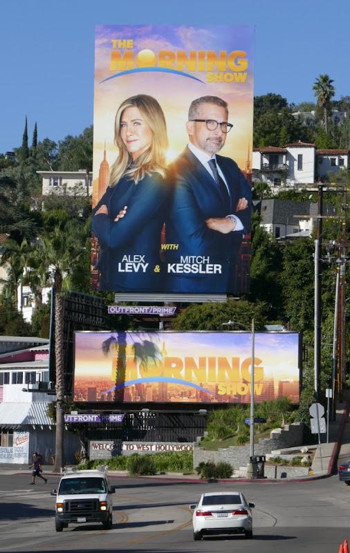Morning Show fake billboards