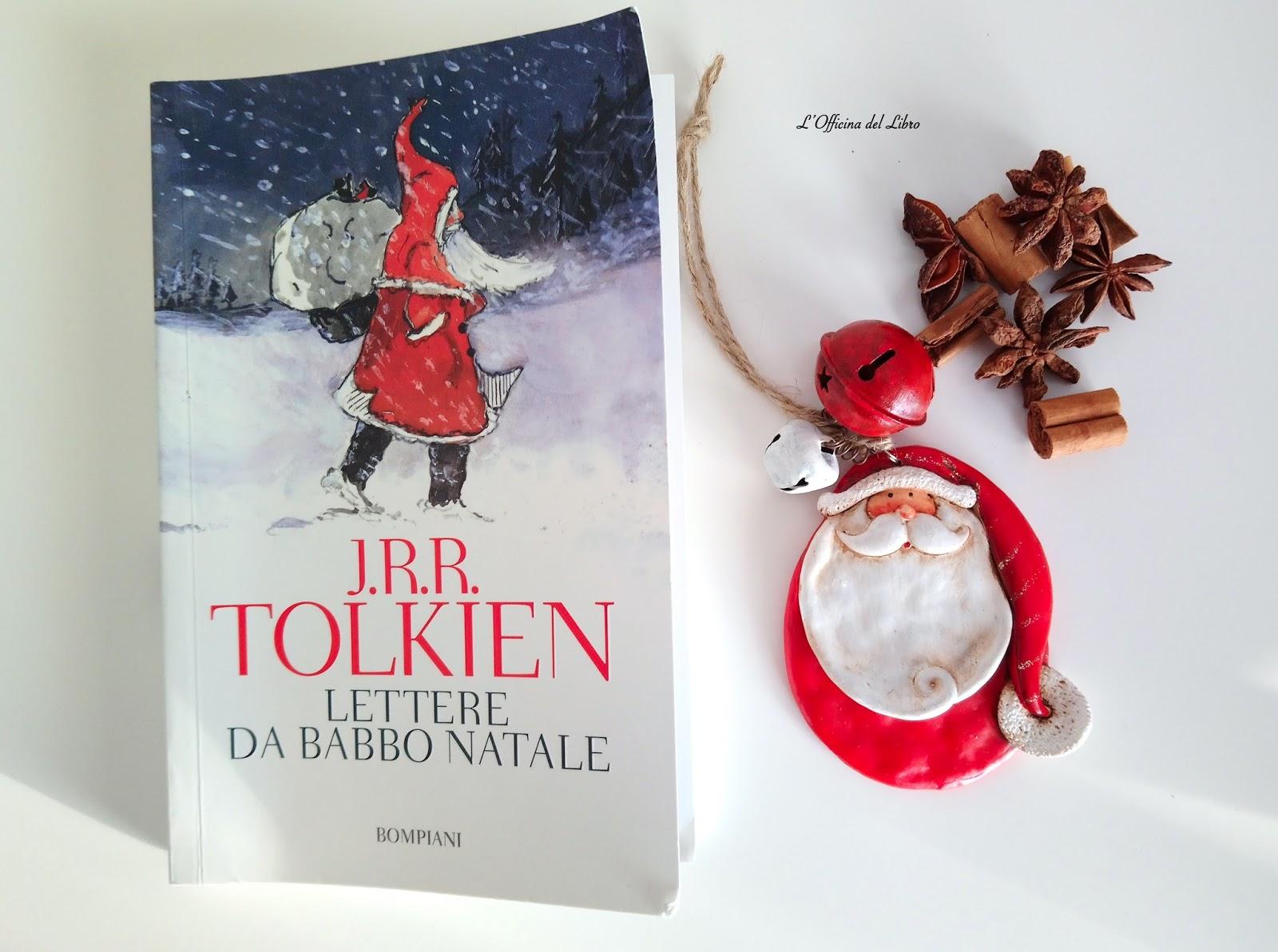 Le Lettere Di Babbo Natale.L Officina Del Libro Recensione Lettere Da Babbo Natale Di