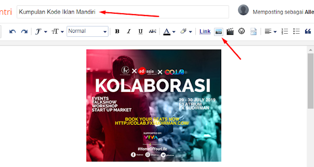 Langkah Penting Cara Pasang Semua Jenis Kode Iklan di Template Blogger