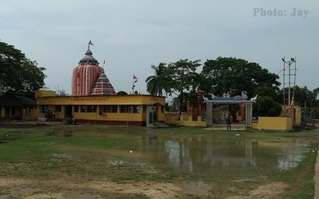 Maa Dhamarai Temple Side View