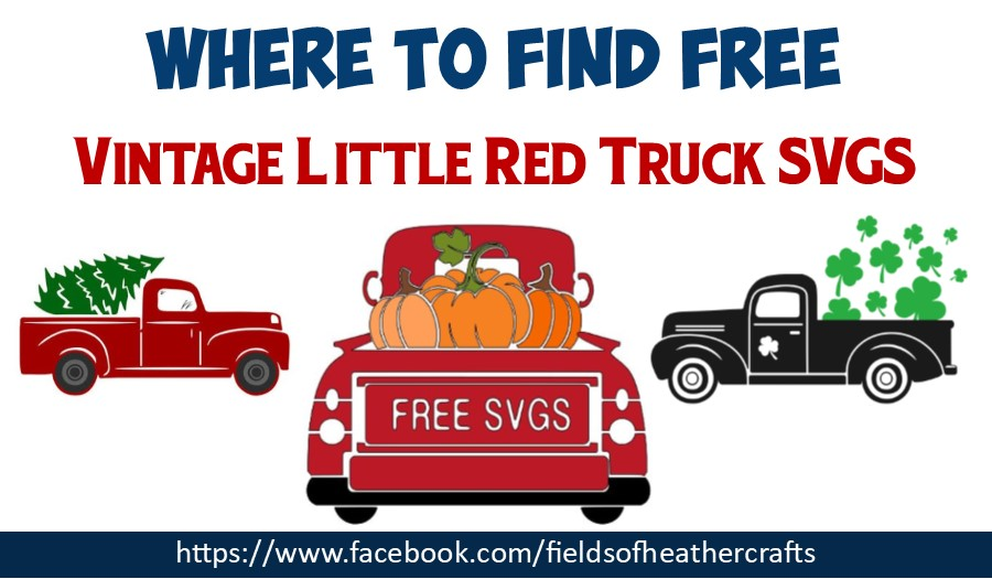 Vintage Red Truck Free Svgs Project Ideas