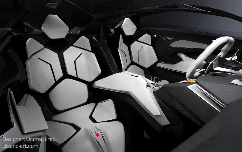 Lamborghini Perdigon Concept Car Geekswipe