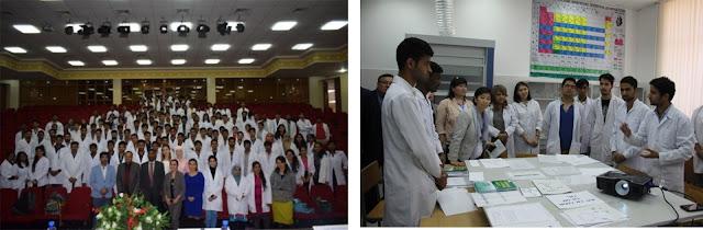 Pakistani students in ASTANA MEDICAL UNIVERSITY