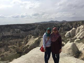 Travelog Turkey Green Tour in Cappadocia, Turki Goreme Panorama Viewpoint