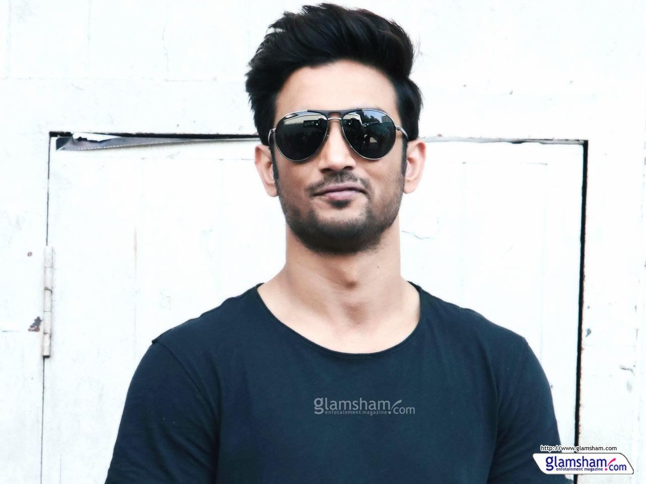 Sushant Singh Rajput in Goggles