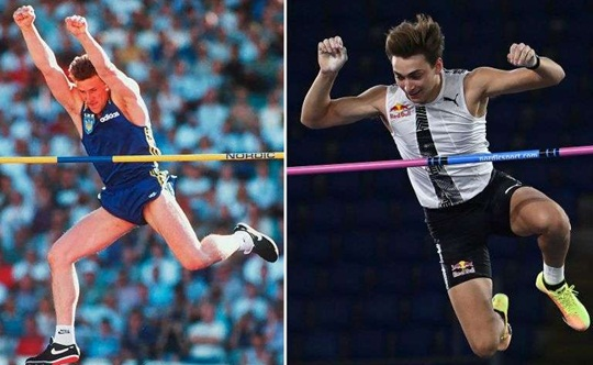 Swede breaks world record in the pole vault and threatens Thiago Braz bi