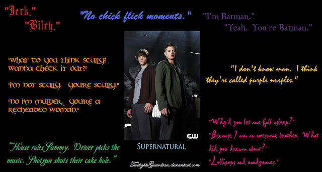 Supernatural TV Shows Image Quotes