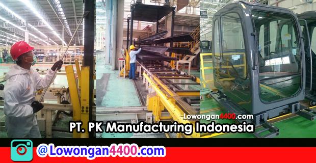 Lowongan Kerja PT. PK Manufacturing Indonesia (PT. PKMI) Karawang