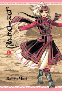 "Throwback Thursday review of Kaoru Mori's ""A Bride's Story"" Vol. 1.  A lush, detailed historical manga set in Central Asia in the late 1800s"