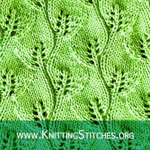 Leaf Lace Knitting Stitch Patterns, Best Lace knitting
