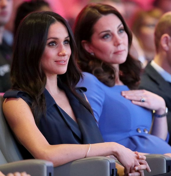 Duchess Catherine And Meghan Markle Attend The Royal