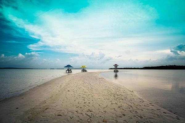 Pulau Leebong liburan ke bangka belitung dengan traveloka xperience