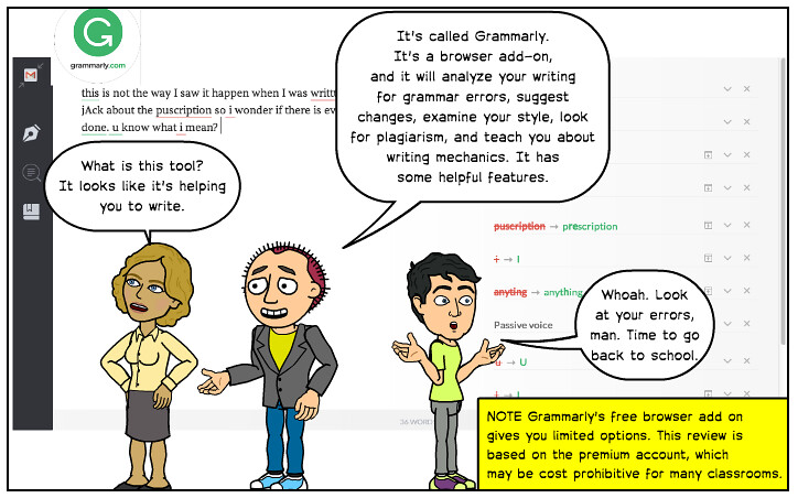 A good and correct grammar proofing tool