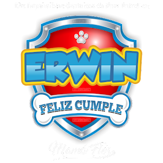 Logo de Paw Patrol: Erwin