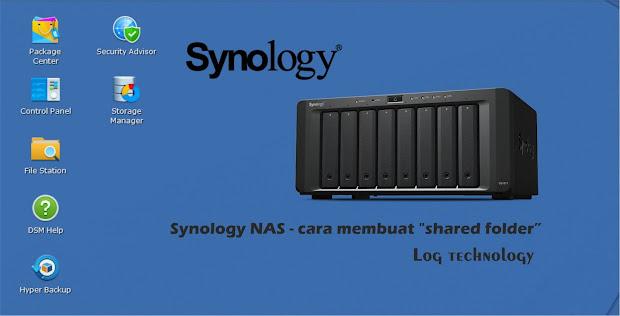 "Cara membuat ""shared folder"" Synology NAS"