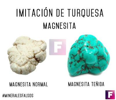 magnesita falsa turquesa | foro de minerales