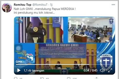 HEBOH.. Video Mahasiswa Kristen Dukung PAPUA MERDEKA, Netizen: NKRI Harga Mati Cuma Di Bibir