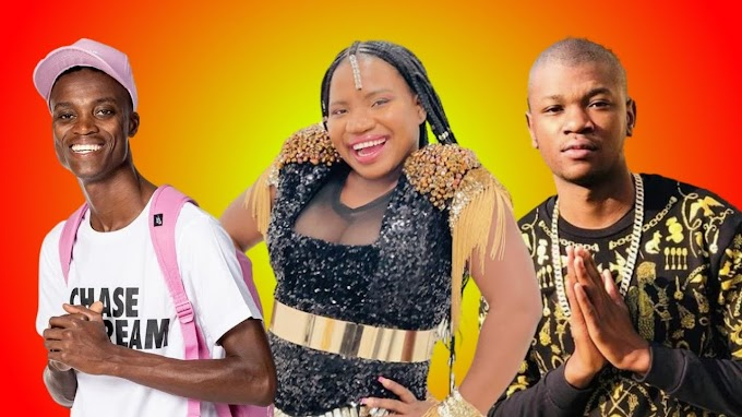 Makhadzi Featuring King Monada or King Monada and Makhadzi Featuring Prince Benza and  Prince Benza Live video Before song Chaos