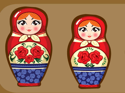 Yolk Matryoshka Doll Hous…