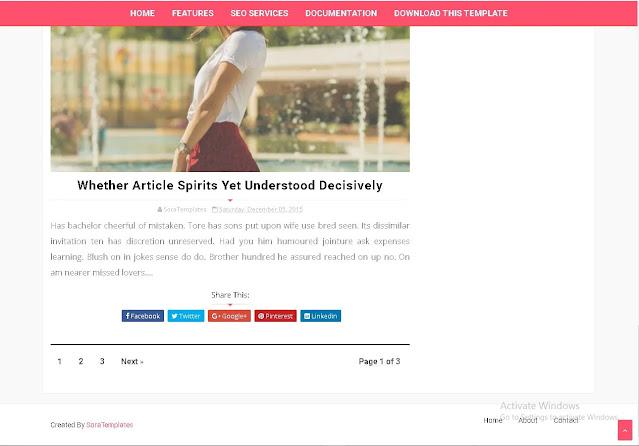 Download Free Maverick Fashion Responsive Multi-Purpose Blogger - Blogspot Theme